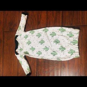 Cactus gown
